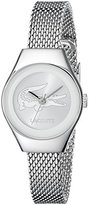 Lacoste Women's 2000877 Valencia Mini Silver-Tone Stainless Steel Watch