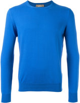 Cruciani ribbed trim sweatshirt