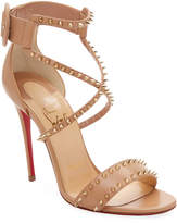 Christian Louboutin Women's Choca Studded Leather Sandals