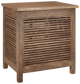 John Lewis Country Square Slatted Storage Box