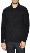 Scotch & Soda Solid Shawl Collar Sweater