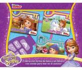 Disney Sofia the First Board Book Set with Sound Keychain (Spanish)