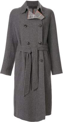 Rag & Bone Belted Double-Breasted Coat