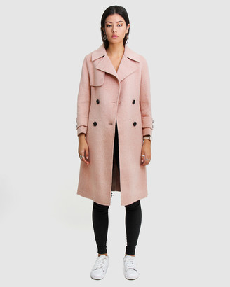 Belle & Bloom Endless Attention Wool Coat