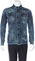 11 By Boris Bidjan Saberi Destroyed Denim Jacket