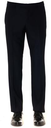 Ermenegildo Zegna Blu Navy Classic Suit In Wool