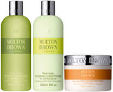 Molton Brown Plum-kadu Glossing Shampoo, Conditioner 300ml & Deep Conditioning Hair Mask 200ml (Bundle)