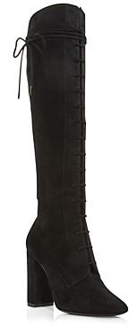Saint Laurent Women's Laura 100 Lace Up Boots