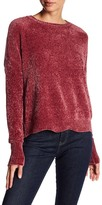 Romeo & Juliet Couture Crew Neck Chenille Knit Pullover