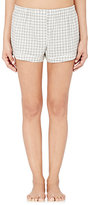 Araks Women's Tia Boxer Shorts-WHITE, GREY
