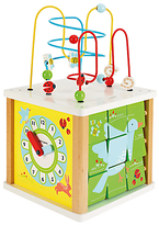 John Lewis Large Activity Cube Toy