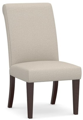 Pottery Barn PB Comfort Roll Upholstered Dining Chair & Armchair