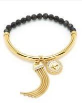 Juicy Couture Jet Set Charm Beaded Bracelet