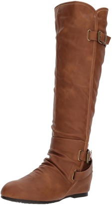 DREAM PAIRS Women's Akris Knee High Boot