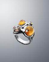 David Yurman Multi-Stone Oval Mosaic Ring