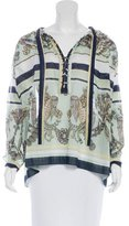 Gucci Embellished Long Sleeve Top w/ Tags