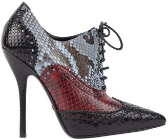 Gucci Blue Python Ankle boots