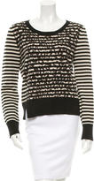 Thakoon Striped Wool-Blend Sweater