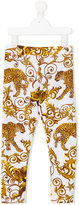 Philipp Plein Vanilla leggings - kids - Cotton/Spandex/Elastane - 4 yrs
