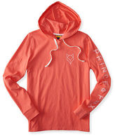 Aeropostale Womens Prince & Fox Logo Hooded Tee Shirt
