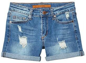 Joe's Jeans The Markie Shorts (Little Kids/Big Kids) (Medium Indigo) Girl's Shorts