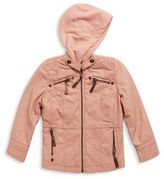 Joujou Little Girl's Zip-Up Jacket