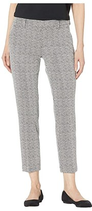 Liverpool Kelsey Trousers in Novelty Abstract Knit (Black/White Abstract) Women's Casual Pants
