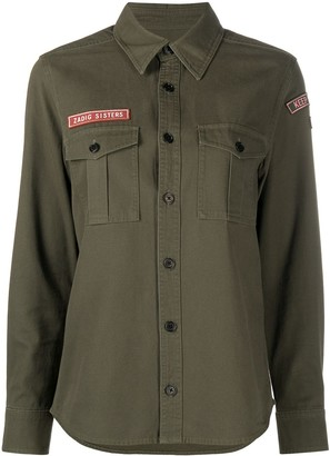 Zadig & Voltaire Military Style Shirt