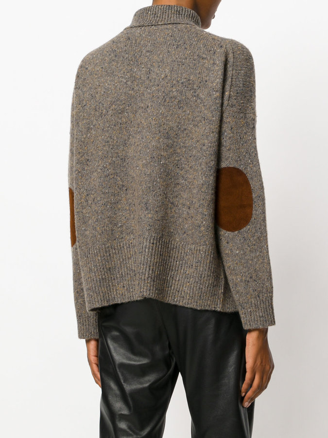 Vanessa Bruno elbow patch jumper