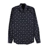 Dolce And Gabbana Floral Print Slim Fit Shirt