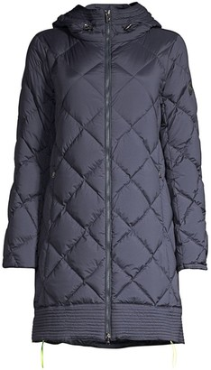 Bogner Pamela-D Diamond-Quilted Down Walker Coat