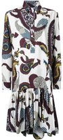 Antonio Marras printed shirt dress