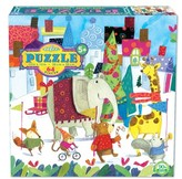 Eeboo Toddler Holiday Parade Jigsaw Puzzle