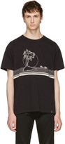 Rag & Bone Black new York Palm T-shirt