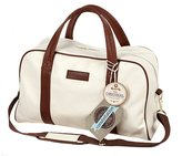 Constellation Faux Leather Holdall - Cream