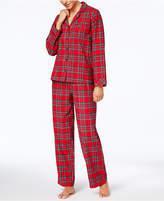 Family Pajamas Women's Holiday Plaid Pajama Set, Created for Macy's