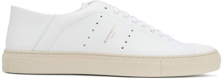 Givenchy star perforated sneakers