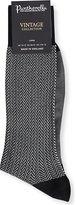 Pantherella Herringbone Cotton-blend Socks