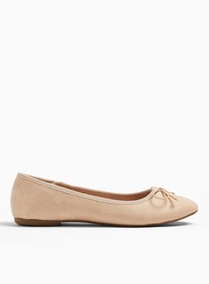 Miss Selfridge WIDE FIT LILY Ballerina Pumps