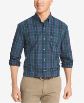 Izod Men's Big & Tall Non-Iron Plaid Shirt