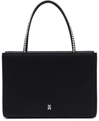 Amina Muaddi Gilda crystal-embellished mini bag