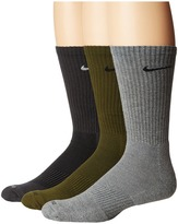 Nike 3 Pair Pack Dri-Fit Cushion Crew Crew Cut Socks Shoes