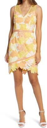 Adelyn Rae Jazlyn Sleeveless Sheath Dress