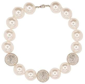 Kenneth Jay Lane Jackie Kennedy White Pearl Necklace
