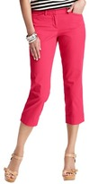 LOFT Marisa Casual Cropped Pants in Stretch Cotton
