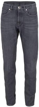 Eleventy Grey Five Pocket Jean