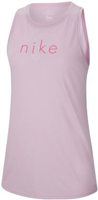 Nike Yoga Dry Tank Top - Light Pink