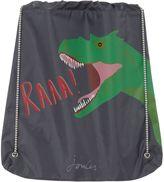 Joules Boys Dino Drawstring Bag