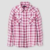 Art Class Girls' Flannel Shirt Art Class - Casual Pink