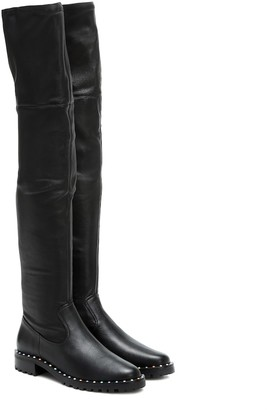 Sophia Webster Bessie leather over-the-knee boots